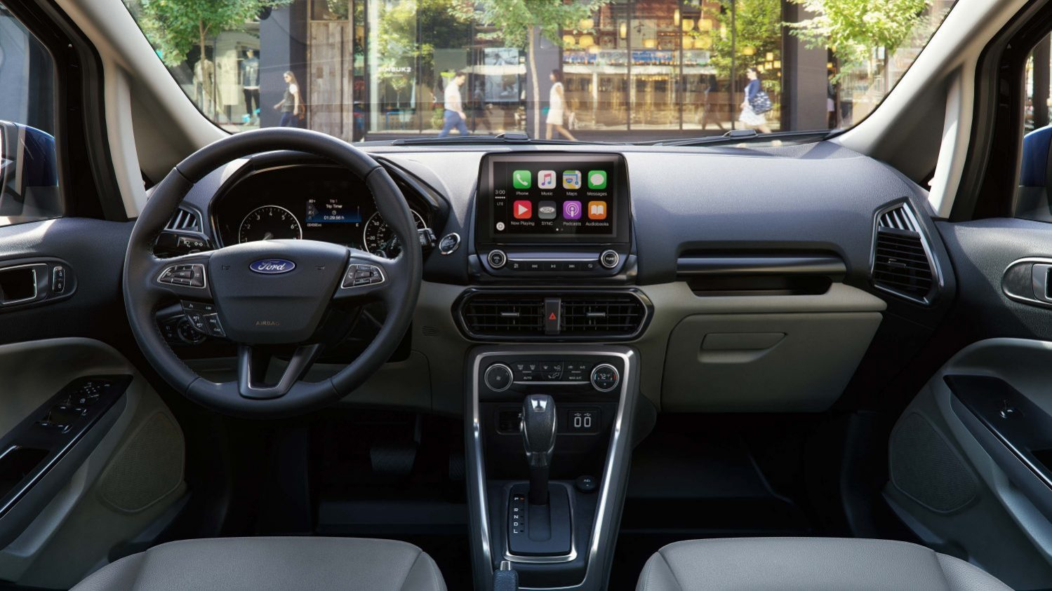 ford ecosport 2021 nội thất